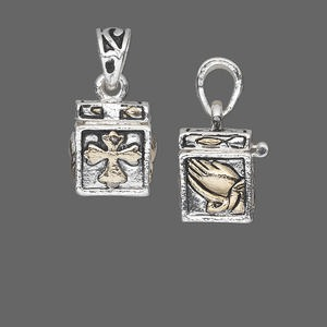 Drops Silver Plated/Finished Silver Colored
