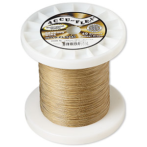 Beading Wire Gold Plated/Finished Gold Colored