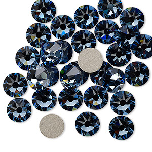 Flat-Back Swarovski Denim Blue