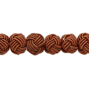Beads Rayon Browns / Tans
