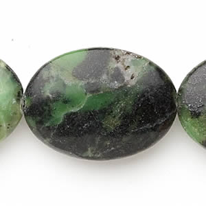 "Beads Grade C Chinese ""Chrysoprase"""