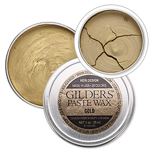 Paints and Coloring Agents Gold Colored Gilders Paste