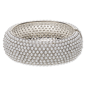 Bangles Imitation rhodium-finished Greys