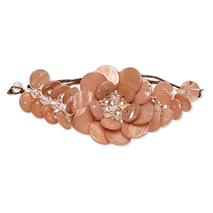 Other Bracelet Styles Pearl Shell Oranges / Peaches