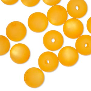 Beads Epoxy/Resin Oranges / Peaches