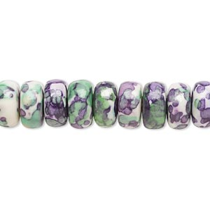 Beads Porcelain / Ceramic Multi-colored