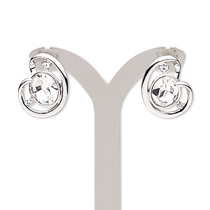 Earstud Earrings Clear Everyday Jewelry