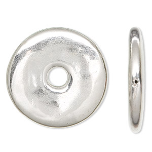Donuts Sterling Silver Silver Colored