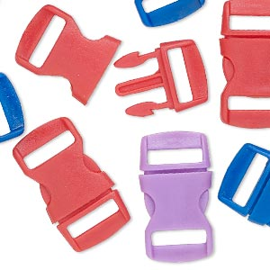 Buckle Clasps Other Plastics Mixed Colors