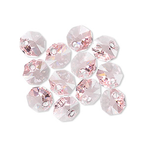 Drops Swarovski Light Rose