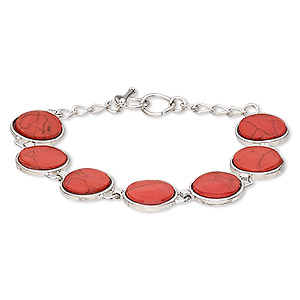 Other Bracelet Styles Magnesite Reds