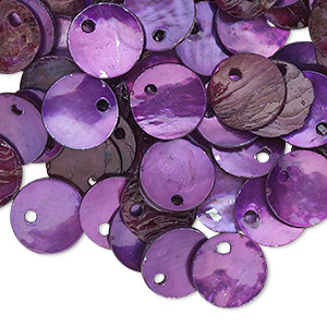 Drops Mussel Shell Purples / Lavenders