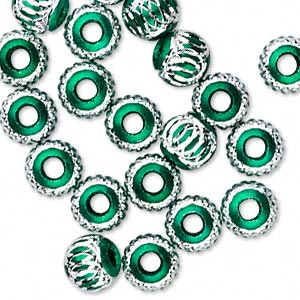 Beads Aluminum Greens