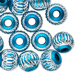 Beads Aluminum Blues