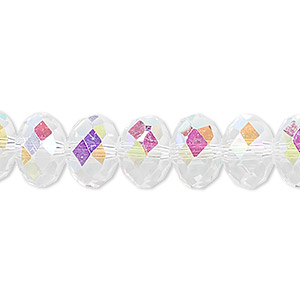 Beads Celestial Crystal Rondelle