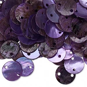 Links Mussel Shell Purples / Lavenders