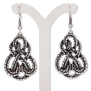 Fishhook Earrings Silver Colored Everyday Jewelry