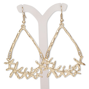 Fishhook Earrings Gold Colored Everyday Jewelry