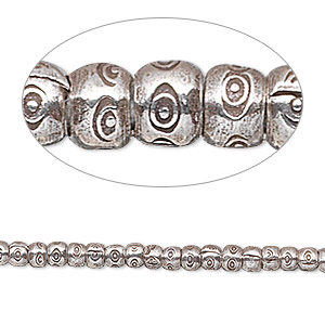 Spacer Beads Fine Silver Silver Colored
