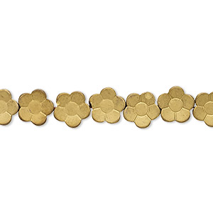 Beads Hemalyke Gold Colored