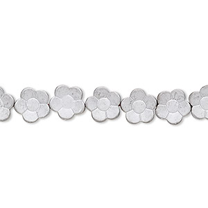 Beads Hemalyke Silver Colored