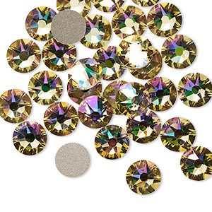 Flat-Back Swarovski Greens