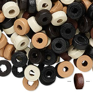 Beads Other Wood Rondelle
