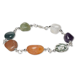 Other Bracelet Styles Agate Multi-colored