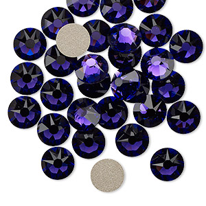 Flat-Back Swarovski Purple Velvet