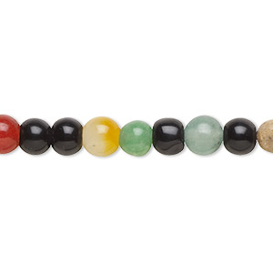 Beads Grade D Mixed Gemstones