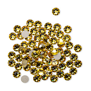 Flat-Back Swarovski Sunflower