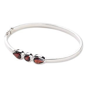 Bangles Sterling Silver Reds