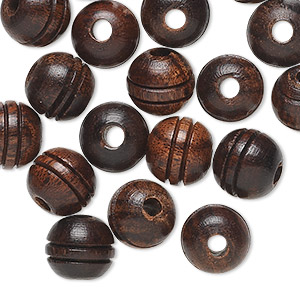 Beads Ebony Browns / Tans