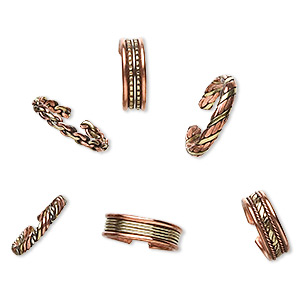 Finger Rings Copper Colored Everyday Jewelry