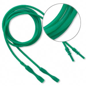 Necklace Cords Silicone Greens