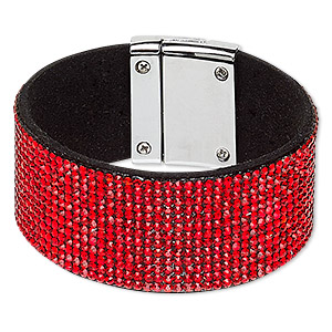 Other Bracelet Styles Faux Suede Reds