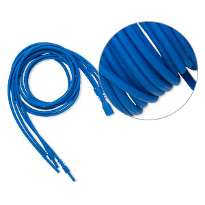 Necklace Cords Silicone Blues