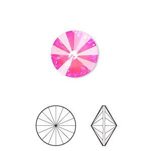 Point-Back Swarovski Pinks