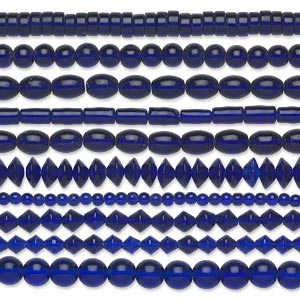 Beads Glass Blues