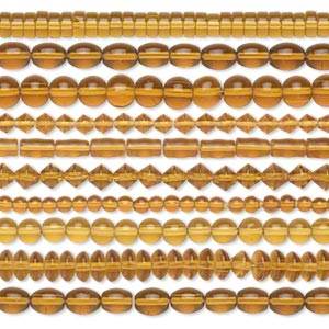 Beads Glass Browns / Tans