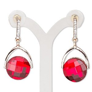 Earstud Earrings Reds Everyday Jewelry