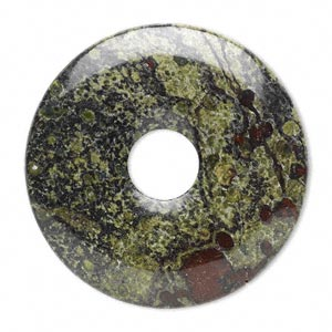 Donuts Grade B Dragon Blood Jasper
