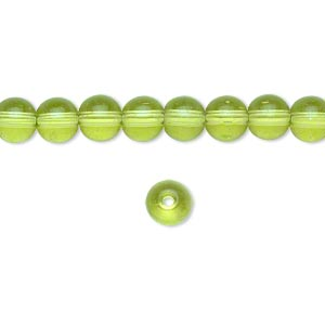 Beads Glass Greens