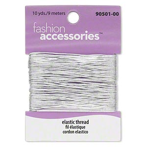 Cord Silver Colored 0.7mm