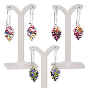 Earring Assortments Mylar Mixed Colors