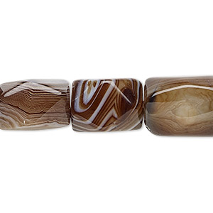 Beads Grade B Striped Agate