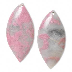 Focals Rhodonite With Quartz Multi-colored