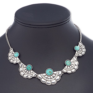 Other Necklace Styles Magnesite Blues