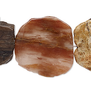 Beads Grade B Petrified Wood
