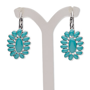 Leverback Earrings Greens Everyday Jewelry